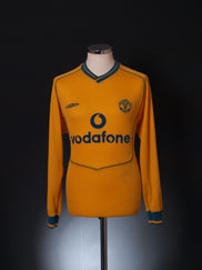 2000-02 Manchester United Goalkeeper Shirt Y