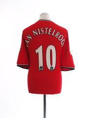 2000-02 Manchester United Home Shirt van Nistelrooy #10 XXL