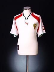 2000-02 Morocco Away Shirt L