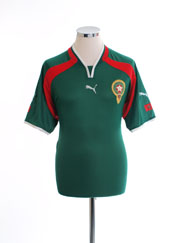 2000-02 Morocco Home Shirt XL