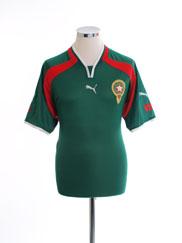 2000-02 Morocco Home Shirt XL