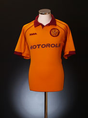 2000-02 Motherwell Home Shirt L