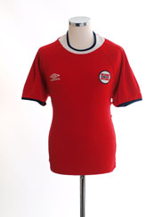 2000-02 Norway Home Shirt M