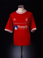 2000-02 Nottingham Forest Home Shirt XL