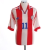 2000-02 Paraguay Home Shirt Santa Cruz #11 XL