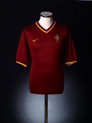 2000-02 Portugal Home Shirt XL.Boys
