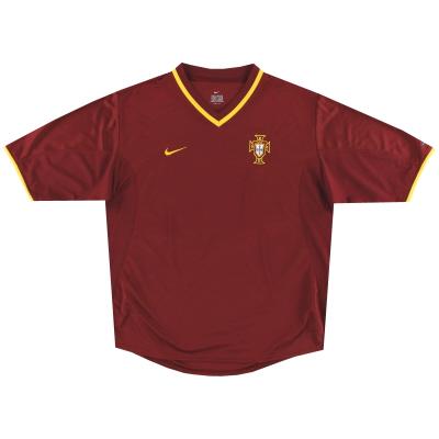 2000-02 Portugal Nike Home Shirt XL