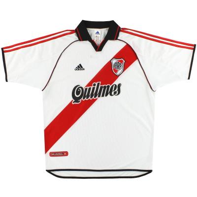 2000-02 River Plate adidas Home Shirt XL