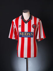2000-02 Sheffield United Home Shirt M