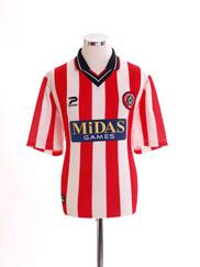 2000-02 Sheffield United Home Shirt *Mint* L