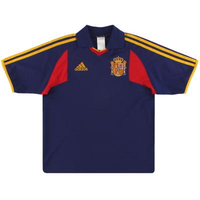 2000-02 Spain adidas Basic Away Shirt XL.Boys