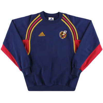 2000-02 Spain adidas Sweatshirt S