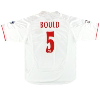 2000-01 Sunderland Nike Match Issue Away Shirt Bould #5 XL