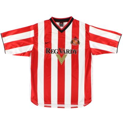 2000-02 Sunderland Nike Home Shirt XL.Boys