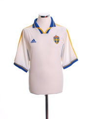 2000-02 Sweden Away Shirt XL