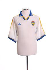 2000-02 Sweden Away Shirt XL