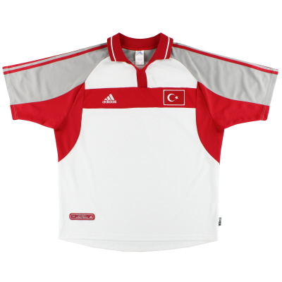 2000-02 Turkey adidas Away Shirt XL