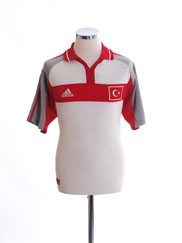 2000-02 Turkey Away Shirt S
