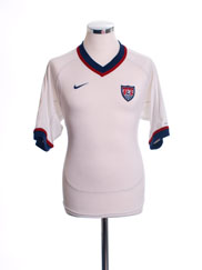 2000-02 USA Home Shirt S