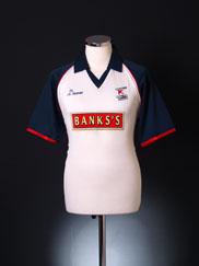 2000-02 Walsall Away Shirt  S