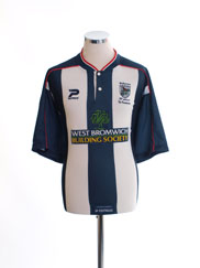 2000-02 West Brom Home Shirt XL