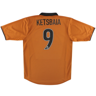 2000-02 Wolves Home Shirt Ketsbaia #9 M