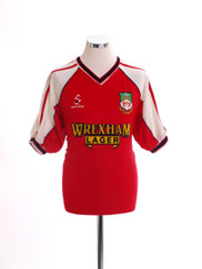 2000-02 Wrexham Home Shirt M