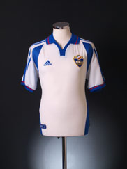 2000-02 Yugoslavia Away Shirt *Mint* S