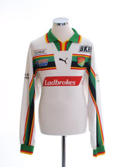 2000 GAIS Match Issue Away Shirt #9 L/S XL