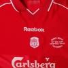 2000 Liverpool 'Ronnie Moran Testimonial' Player Issue Home Shirt #9 (Fowler)