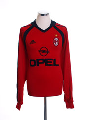 2001-02 AC Milan Third Shirt L/S XL