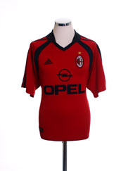 2001-02 AC Milan Third Shirt L
