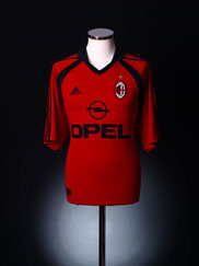 2001-02 AC Milan Third Shirt S