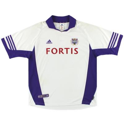 2001-02 Anderlecht adidas Home Shirt