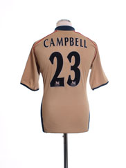 2001-02 Arsenal Away Shirt Campbell #23 L