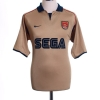 2001-02 Arsenal Away Shirt Cole #3 L