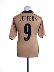 2001-02 Arsenal Away Shirt Jeffers #9 L