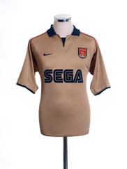 2001-02 Arsenal Away Shirt S