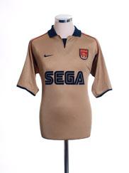 2001-02 Arsenal Away Shirt XL