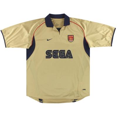 2001-02 Arsenal Nike Away Shirt XL
