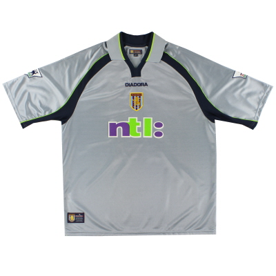 2001-02 Aston Villa Away Shirt M