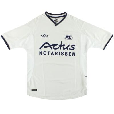 2001-02 AZ Alkmaar Umbro Training Shirt L