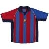 2001-02 Barcelona Home Shirt Saviola #7 XL