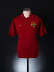 2001-02 Barcelona Polo Shirt L