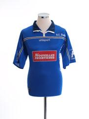 2001-02 Bastia Home Shirt L