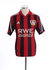 2001-02 Bayer Leverkusen Home Shirt Y
