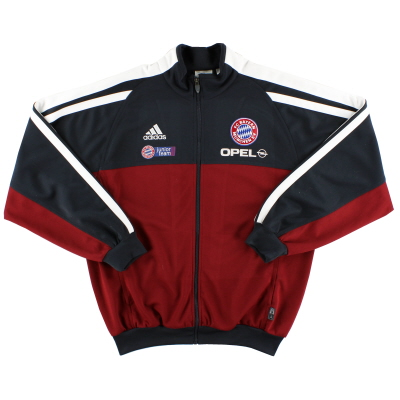 2001-02 Bayern Munich adidas Player Issue Track Jacket L