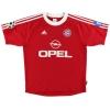 2001-02 Bayern Munich Champions League Shirt Santa Cruz #24 L