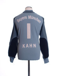 2001-02 Bayern Munich Goalkeeper Shirt Kahn #1 M