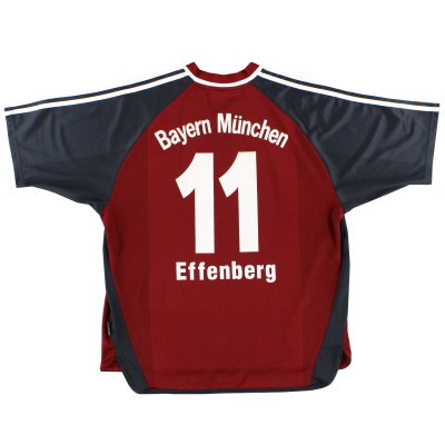 2001-02 Bayern Munich Home Shirt Effenberg #11 XL